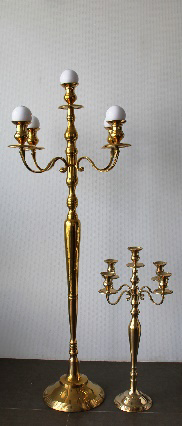 All Event Africa 1.5m - BRASS Mass Candelabra