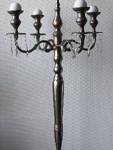 All Event Africa 1.5m - SILVER Mass Candelabra