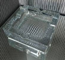 All Events Africa Ashtray Glass