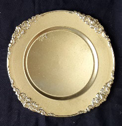 All Event Africa Fancy Silver Under Plates - Limited Stock