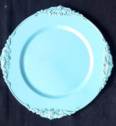 All Event Africa Fancy terquoise Under Plates - Limited Stock