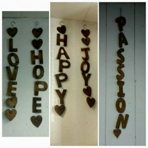 All events Africa Décor Grapes Hanging Decor Words