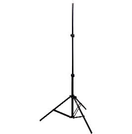 All Events Africa Light Stand Steel black