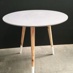 All events Africa Round cafestyle tables white, grey pink or black and white