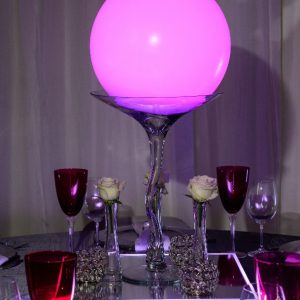 All events Africa Small LED Moon Balls