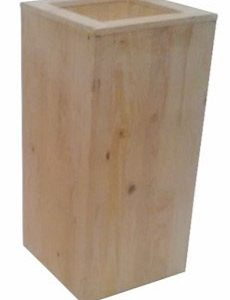 All Events Africa Wooden Plinth